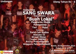 sang swara poster